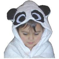 Panda Bear Critter Hooded Towel