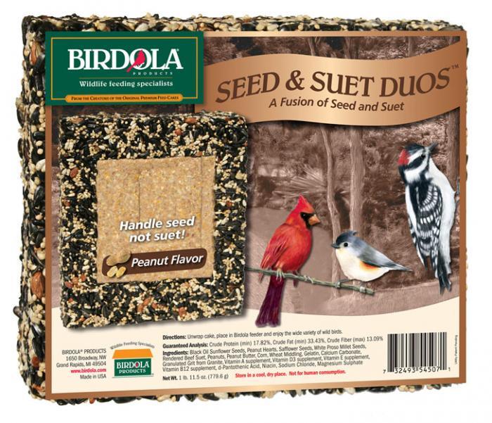 Birdola Products Duo Cake Peanut