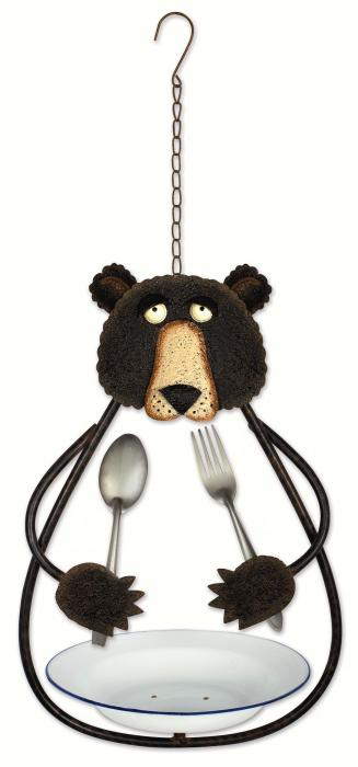 Sunset Vista Designs Bear Bird Feeder