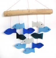 Blue HandWorks Fish & Driftwood Windchime