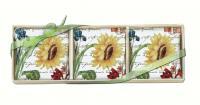 Alice's Cottage Sunflower Gift Boxed Lavendar Sachets (3 pcs)