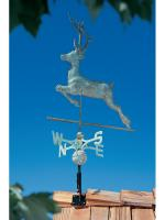 Copper Deer Weathervane - Verdigris