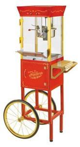 Nostalgia Electrics CCP-510 Circus Cart Popcorn Maker
