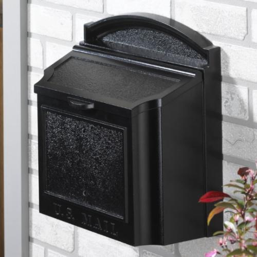 Whitehall Wall Mailbox - Black