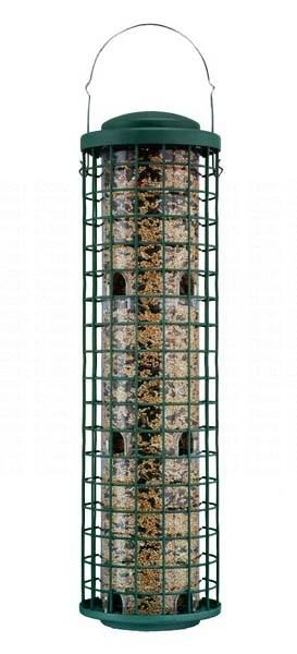 Opus Top Flight Fortress Squirrel Proof Bird Feeder