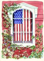 Toland Star-Spangled Window Garden Flag
