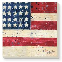 Counter Art Liberty Coasters Set of 4