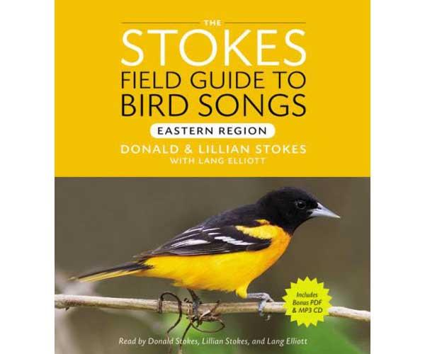 Stokes Field Guide To Bird Songs East 3 CD's + 1 mp3 CD